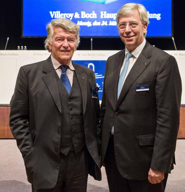 Yves Elsen (re.) Folgt Als Aufsichtsratsvorsitzender Auf Wendelin Von  Boch Galhau
